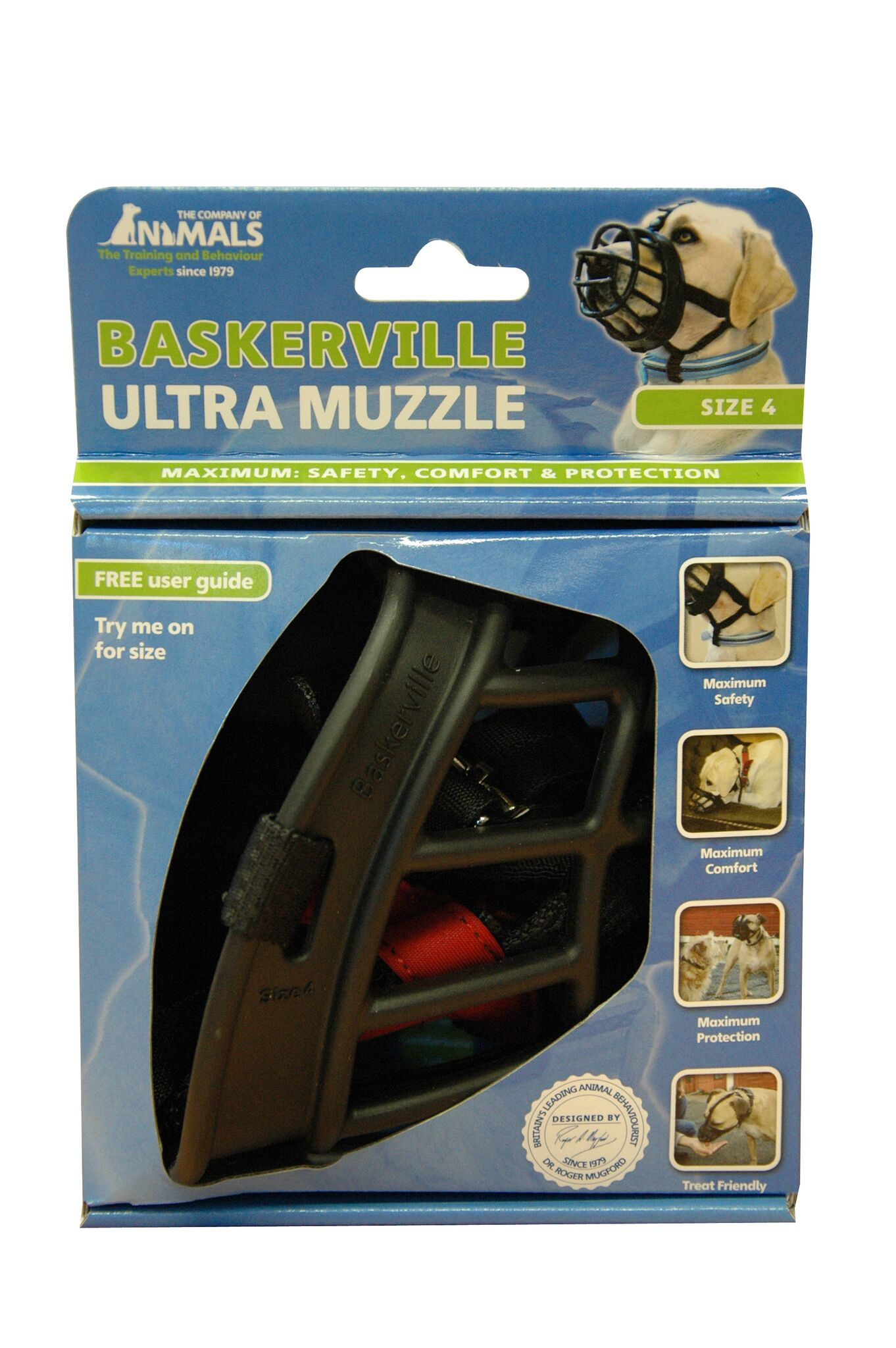 BASKERVILLE Ultra Muzzle Black