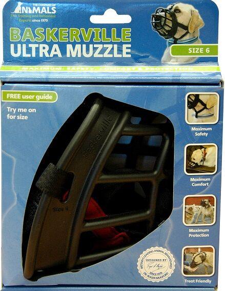BASKERVILLE Ultra Muzzle BlackBASKERVILLE Ultra Muzzle Black