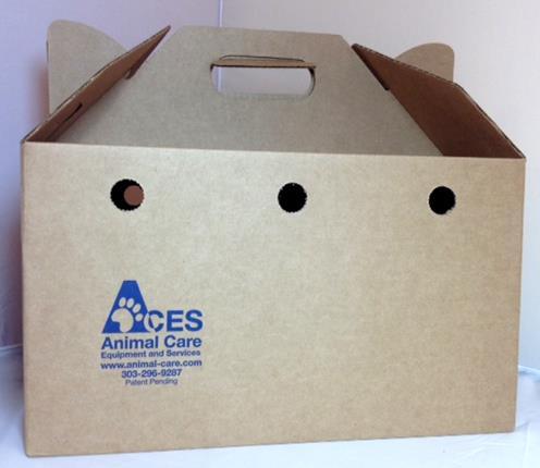 Cardboard Cat or Pet Carrier